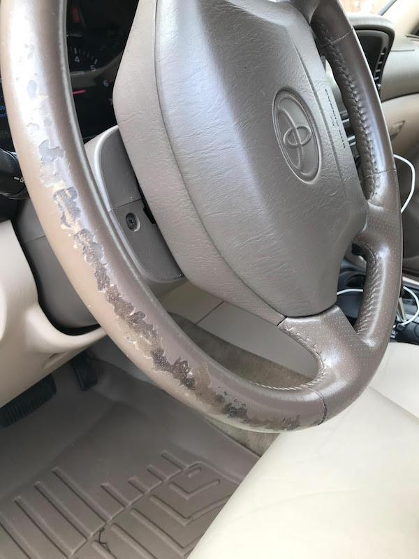 Toyota Land Cruiser Steering Wheel