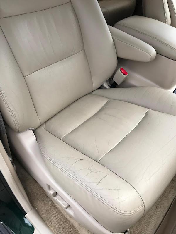 Toyota Land Cruiser passenger seat